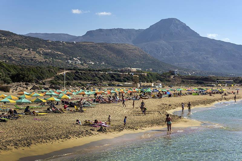 Falasarna Beach.