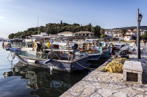 Fishing Boats at Sivota Harbour (a)