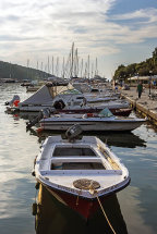 Boats Moored at Sivota Harbour (c)