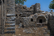 House Ruins in Micro Horio, (c).