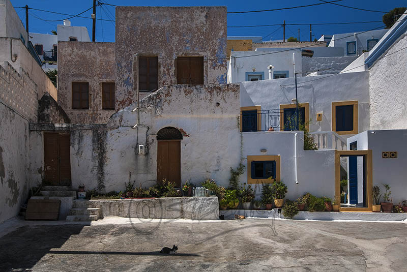 Houses in Agia Marina.