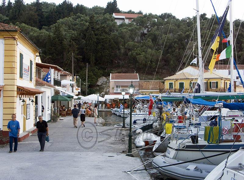 Lakka Harbour. (b).