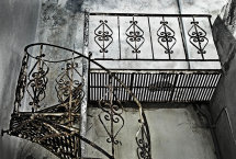 Metal Staircase.