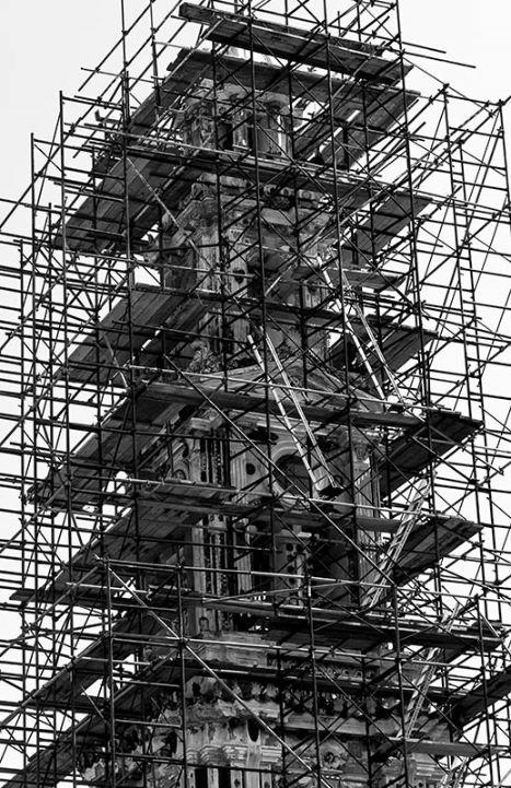 Monastery Tower Repair