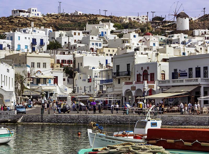 Mykonos Town Harbour (a)