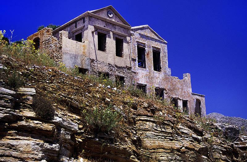 Ruins in Symi Town (b)