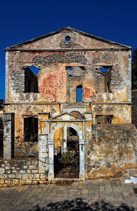 Ruins on the Kali Strata