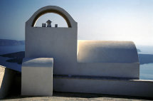 Small Chapel in Thira.