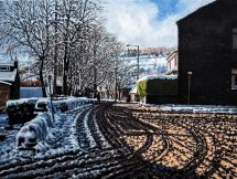 Smithy Lane, Uppermill