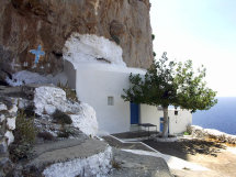 St Photis Shrine, Panormos distrct of Kalymnos.
