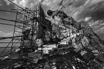 Stairway to Castle Entrance, Skiathos.