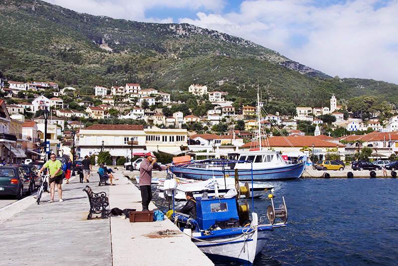 Vathi Harbour. (a)