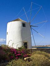 Windmill in Paroikia.