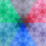 Star, hexagon, triangle
