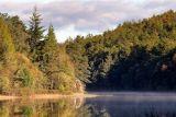 Llyn y Parc mist