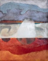 Sarah Owen - Evening Skies, Pendower Beach 61x76cm  £1200