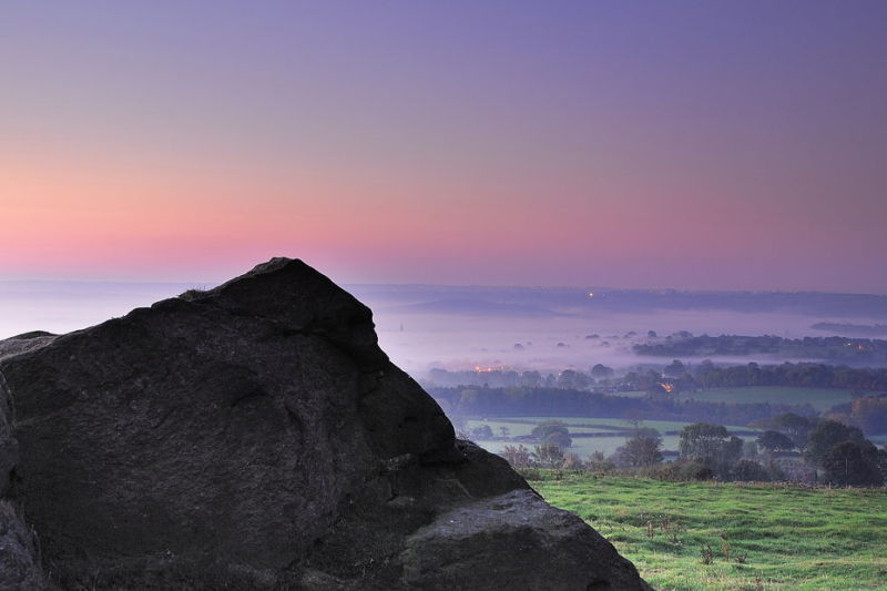Sunrise from Almscliff Crag 02