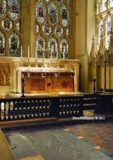 Altar of the Abbey Church, St Peter amd Paul