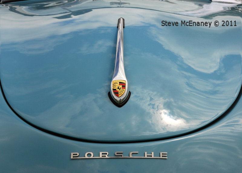 Porsche 356 Bonnet - detail