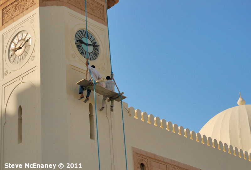 Painting the Clock Tower