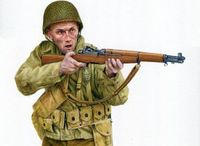 Private, 8th Infantry Regiment. Montebourg, June 7-10, 1944