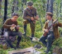 Partisans, Belorussia, 1944