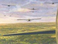 Glider assault on Normandy, June 6, 1944
