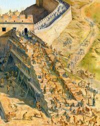 Great Wall of China construction