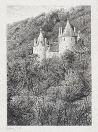 Castell Coch, Autumn morning