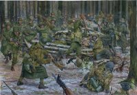 Counterattack in the Krinkelterwald. December 16, 1944