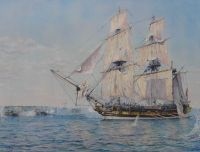 HMS Rose, the Battle of the Scaw, 28th April 1810