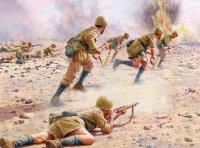 Attacking the Gazala Line, 'Brescia' Division, 1942