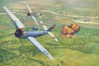 Air Strike on Fort Driant. 21st Sept. 1944