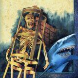 Skeleton and shark book Jacket