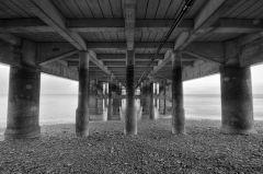 Under Penarth Pier