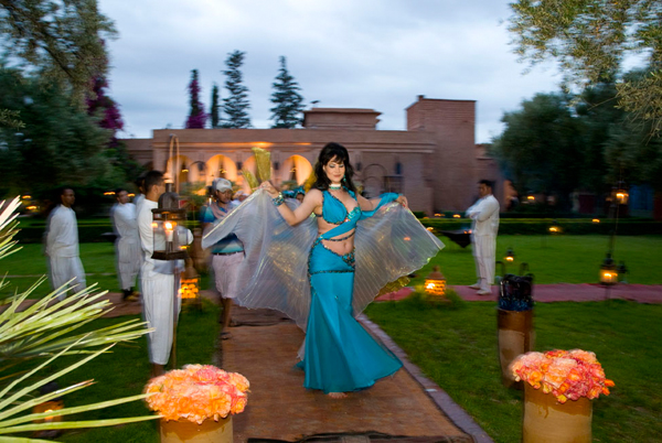 Belly dancer Marrakesh wedding