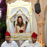 Bride Marrakech throne