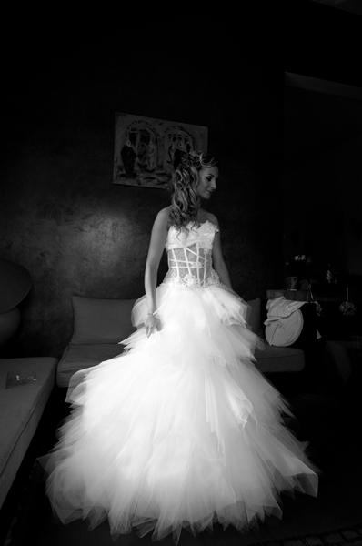 Bride portrait Marrakech