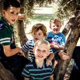 Childrens group portrait