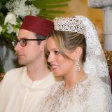 Couple Marrakech wedding ceremony