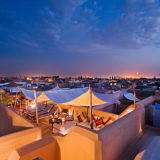 Roof terrace Dar Hanane