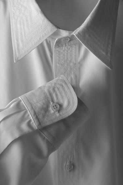Monique Bresson white shirt