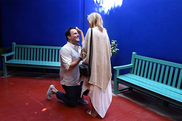 WEDDING PROPOSAL JARDIN MAJORELLE