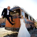 Wedding couple Marrakech