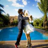 Wedding couple Murano Marrakech