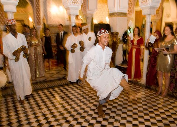 Wedding dancers Marrakesh