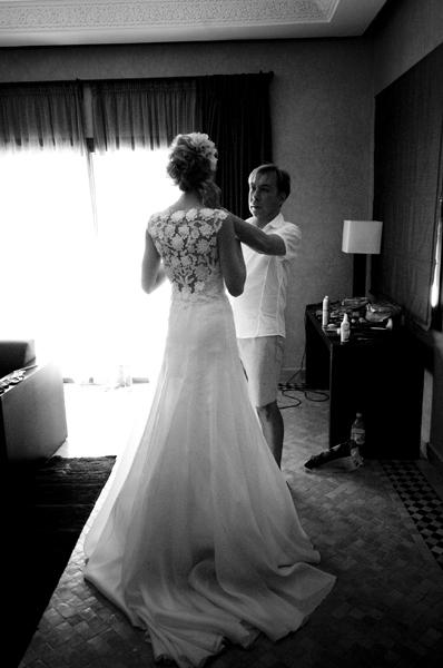 Wedding dress Marrakech