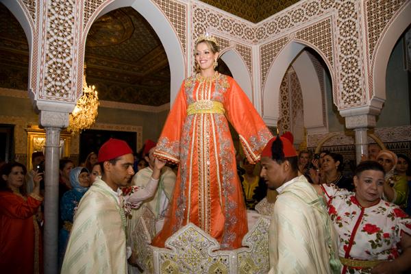 Wedding traditional ceremony Marrakesh