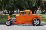 orange hotrod
