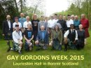 Attendees of the annual Gay Gordons Dance week 2015